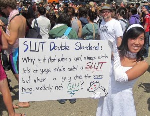 slut walk double standard