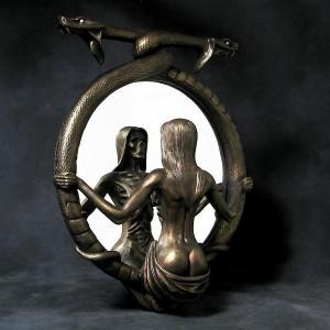 death mirror